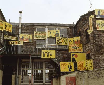 Stephen Powers/ESPO, Waylo Saul, Liverpool Biennial 2002
