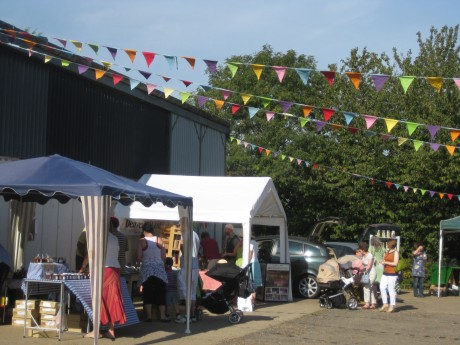 Art Car Boot Fair, Roudham Farm, 2011