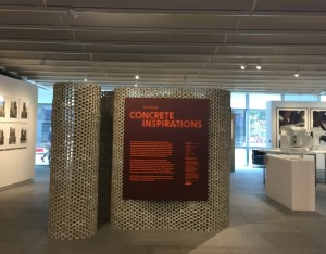 Concrete Inspirations (installation view), July 2016